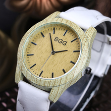 Fashion Brand Mens Watches Luxury Imitation Wooden Watch Men Vintage Leather Quartz Wood Color Male Watch Clock hours Waterproof