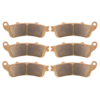 Motorcycle Parts Copper Based Sintered Motor Front & Rear Brake Pads For Honda ST1100A ST 1100A ST1100 A 1996-2002 Brake Disk