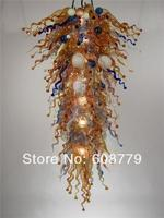 Free Shipping Large Murano Modern Rectangular Crystal Chandelier