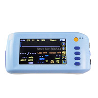 Handheld 6 Parameter Vital sign Monitor Patient Monitor ECG NIBP Spo2 Pulse Rate Temperature 2016