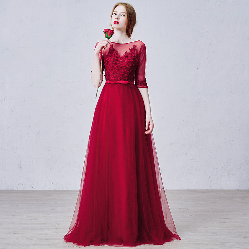 Popular Winter Formal Gown