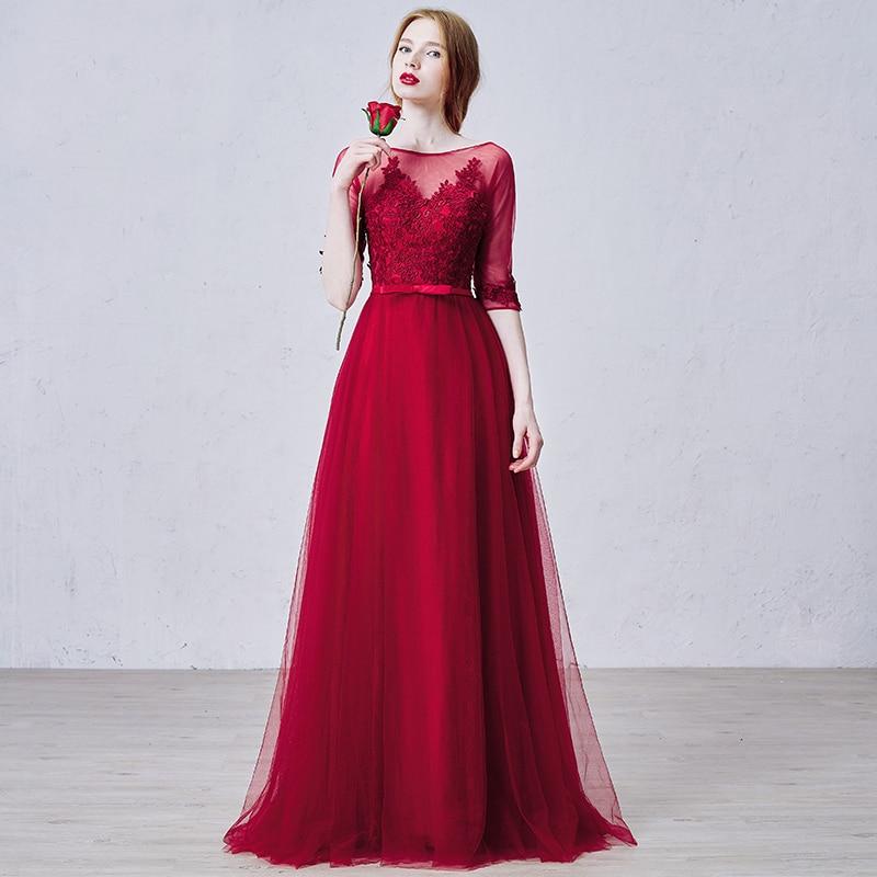 Online Get Cheap Winter Evening Gown Red -Aliexpress.com   Alibaba ...