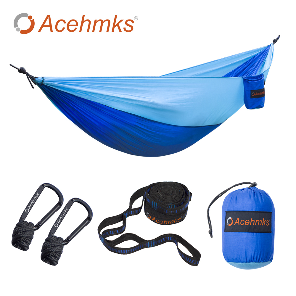 Acehmks Portable Hammock Folding Ultralight Nylon Camping Hammock Parachute Garden Swing With 2 PCS Tree Straps 270X140 CM original printer mainboard for epson stylus photo 1390 1400 1410 1430 ect printer modified flatbed printer
