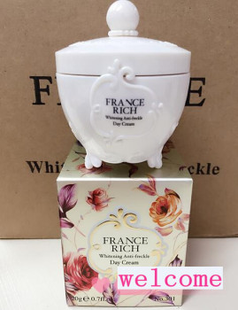 Free Shipping FRANCERICH Moisturizing Whitening anti Freckle Day Cream New Face Skin Care