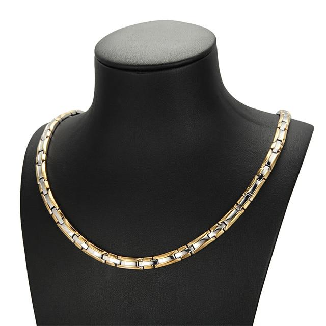 HTB1TH VXc vK1Rjy0Foq6xIxVXaO - Necklace Bracelet Sets for Women Bio Energy  Fashion Magnetic Therapy