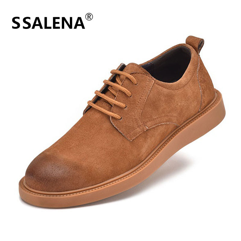 Men Vintage British Style Leather Shoes Male Lace Up Soft Sole Casual Footwear Men Wedding Flat Shoes Plus Size 38-44 AA60808