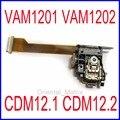 Frete grátis vam1201 vam1202 optical pickup mecanismo vam-1202 cd vcd laser lens para philips cdm12.1 cdm12.2