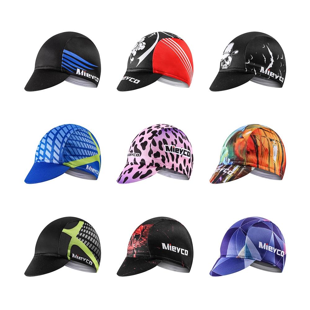 Cycling Caps Hats Bike Running Sunhat Bicycle Headband Retro Headwear Free Size