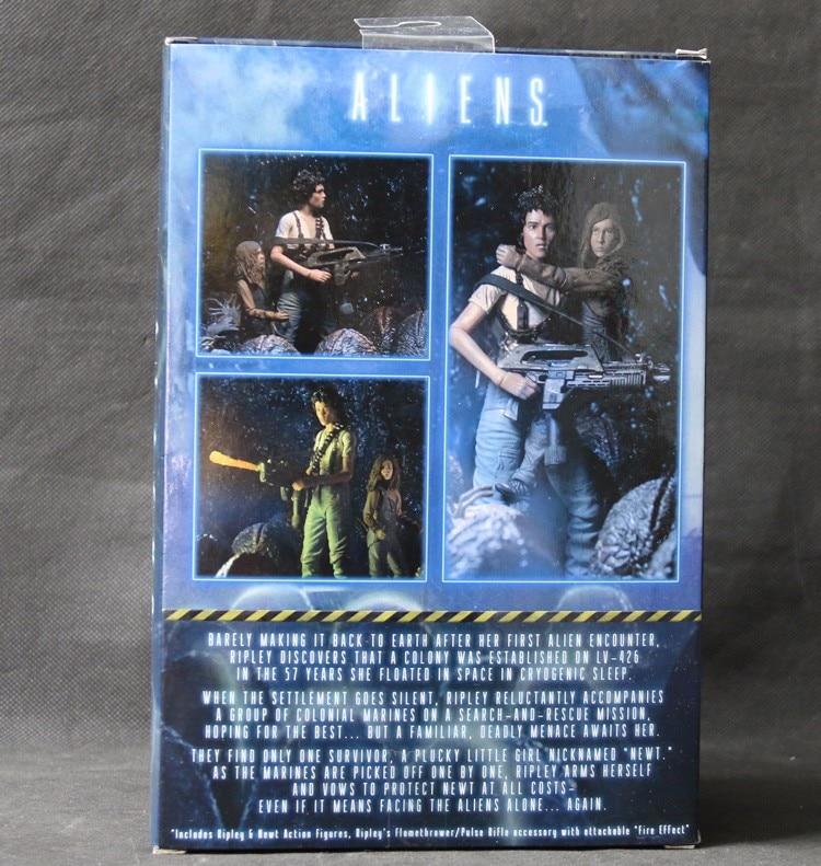 NECA ALIENS 30th Anniversaire sauvetage Newt Deluxe Action Figure 2 Pack Ripley