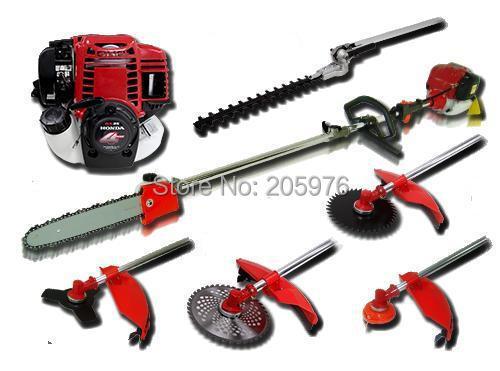 New Model High Quality Original GX35 Engine Multi Brush CutterPole SawHedge TrimmerLine Strimmer 4 in 1