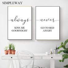 Motivational Minimalis Canvas Poster Nordic Style Wall Art Print Painting Modern Decorative Picture Scandinavian Home Decoration