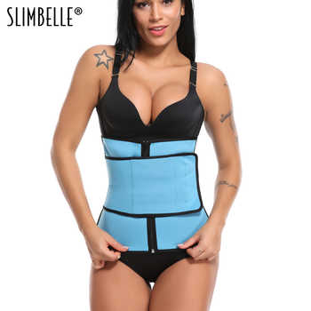 Women Neoprene Zipper Waist Trainer Corset Sweat Sauna Tummy Belly Girdle Waist Cincher Slimming Belt Body Shaper - DISCOUNT ITEM  35% OFF All Category