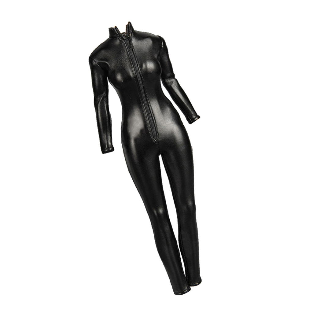 """1//6 Scale Female Jumpsuits For 12/"""" Hot Toys Action Figure Body"""