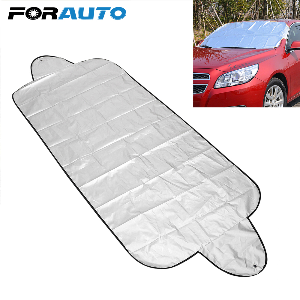 One Pcs Waterproof Dustproof Foldable Car Autos Windshield Sun Shade Block Cover