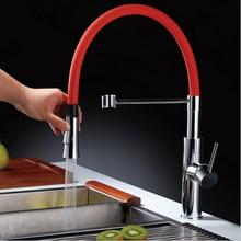 2015 новый тянуть вниз кухонный кран torneira cozinha современный дизайн кухонный кран pull out кухонный смеситель вытащить torneiras