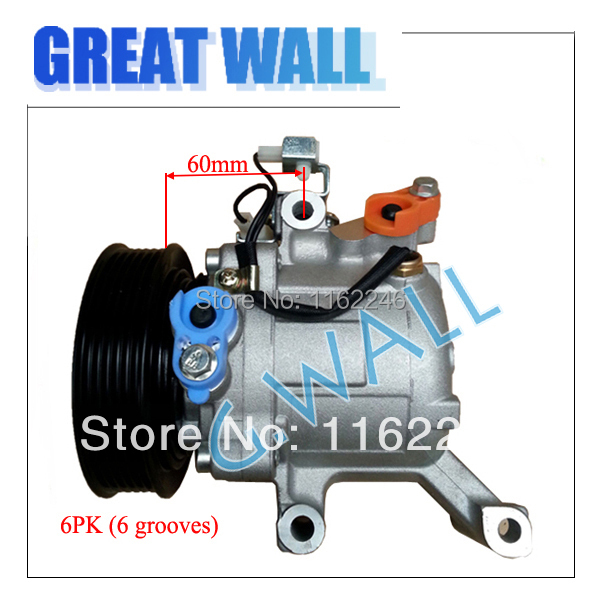 High quality auto ac compressor for  Daihatsu Terios Toyota Passo 2007 2008 2009 2010 447280-3150 88320-B1020 4472803150
