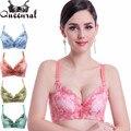 Mulheres elevar rendas sutiã push up bra sutiã ultra impulso top colheita sutiã sutiãs para a mulher sexy lingerie roupa interior das mulheres corset