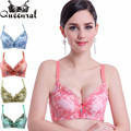 Women lace bra uplift push up bra brassiere ultra boost crop top women's underwear bras bra for woman sexy lingerie corset