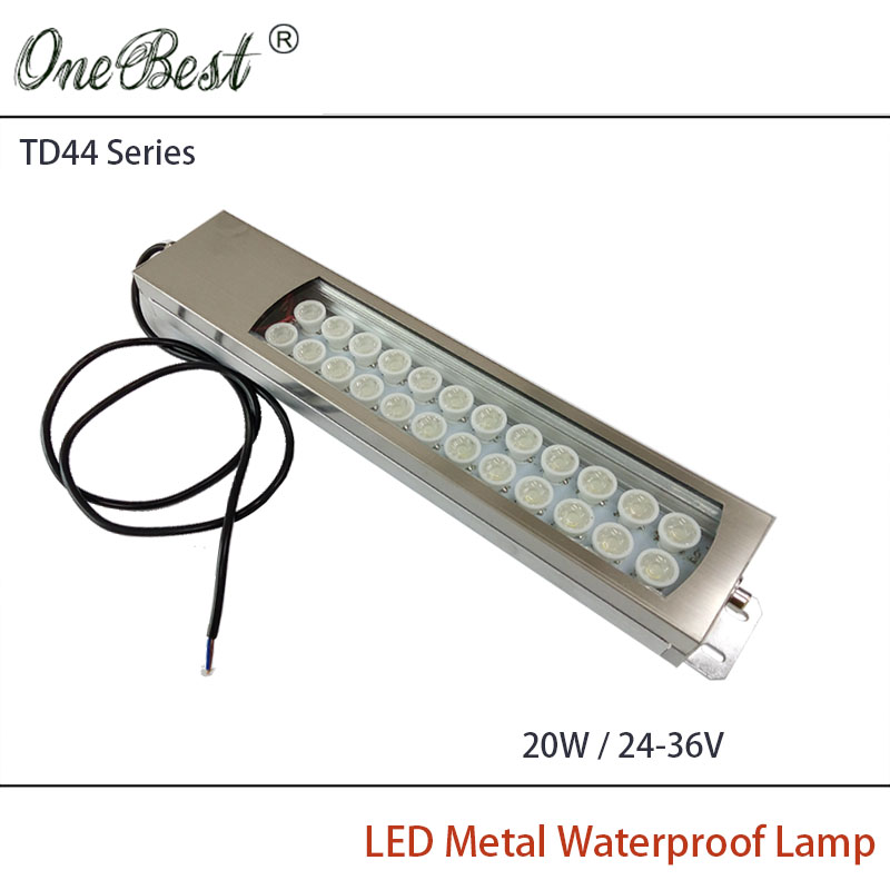 HNTD 24-36V TD44 20W Led Metal Panel Light CNC Machine Tool Waterproof Explosion-proof Led Spotlight Work Lamp Free shipping