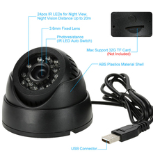 Home Security DVR Dome BNC Camera 1G-32G TF Card Slot Support Loop Recording PC/TV Live View Night Vision