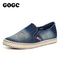 GOGC Джинсовая обувь женская дышащие кеды женские слипоны на весну повседневная женская-обувь на плоской подошве летняя женская обувь для девочек