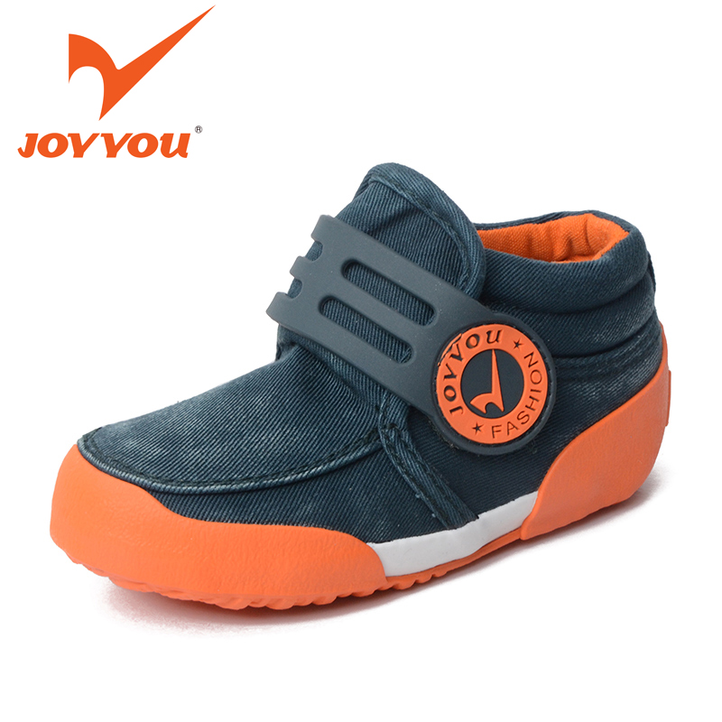 JOYYOU Brand New Kids Boots Girls Boys Fashion Canvas Shoes Baby Flat Boots Ankle Botas Casual Children Espadrilles Flats Chukka
