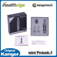 100% Orijinal Kanger mini Protank 3 Atomizer Alt Çift Bobin Protank Serisi clearomizer elektronik sigara için ihealthcigs