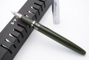 Image 3 - Kanat Sung 601A çelik kapak Vacumatic dolma kalem, güncellenmiş sürümü popüler mürekkep kalem