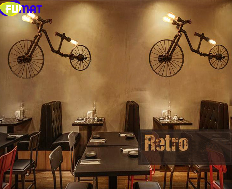 Bicycle Wall Lamps 11