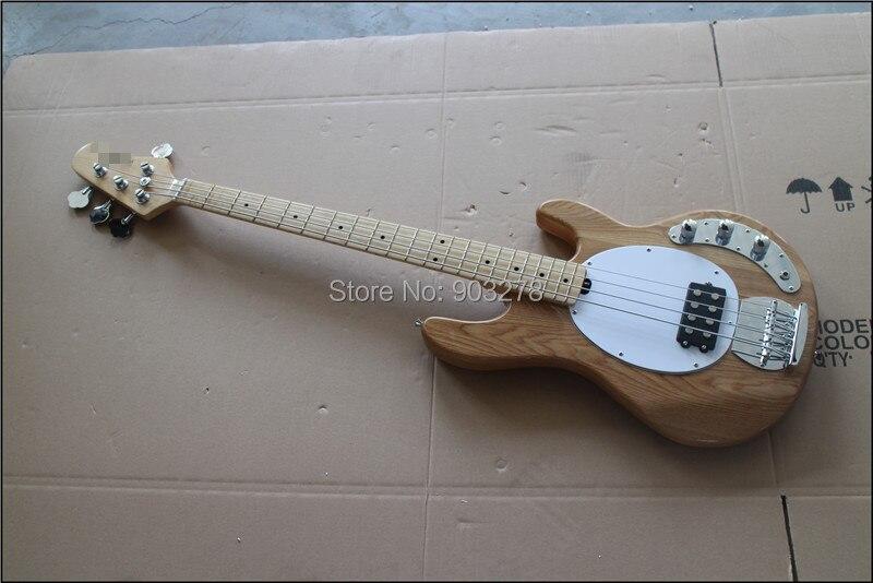 Chinois Glisten nouveau 4 cordes piquer ray 5 basse couleur bleu clair guitare basse électrique livraison gratuite, MMN4