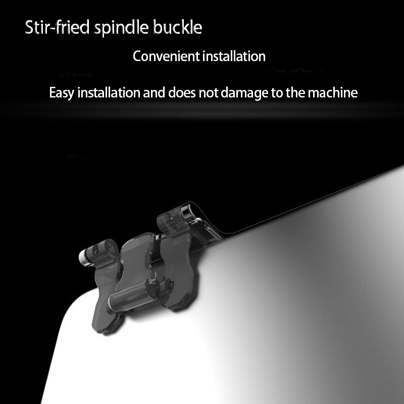 Image 2 - 1Pair Metal Phone Game Pad PUBG Mobile Cellphone Game Controller Shooting Trigger Game Joy Stick for IOS Android-in Gamepads from Consumer Electronics