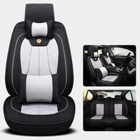 universal car seat cover Cotton&linen fabric automotive seat cover for Ford Focus F 650 F150 F250 F350 mondeo Mustang14 Kuga