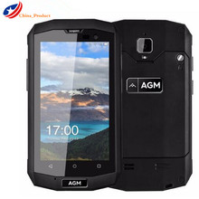 Original AGM A8 mini 4G LTE IP68 Wasserdicht 4,0 zoll Android 5.1 1 GB + 8 GB Quad Core Dual SIM OTG NFC Mobile telefon