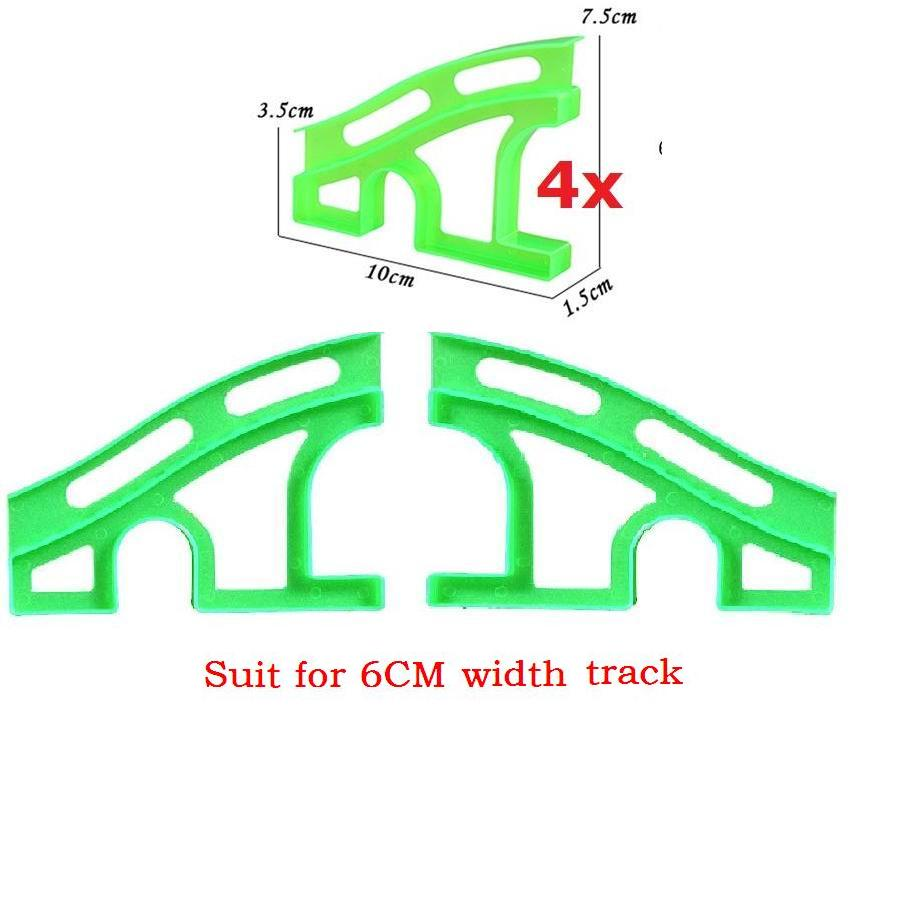 Spare Bridge for Racing tracks That Bend,Flex&Glow 8pcs/lot