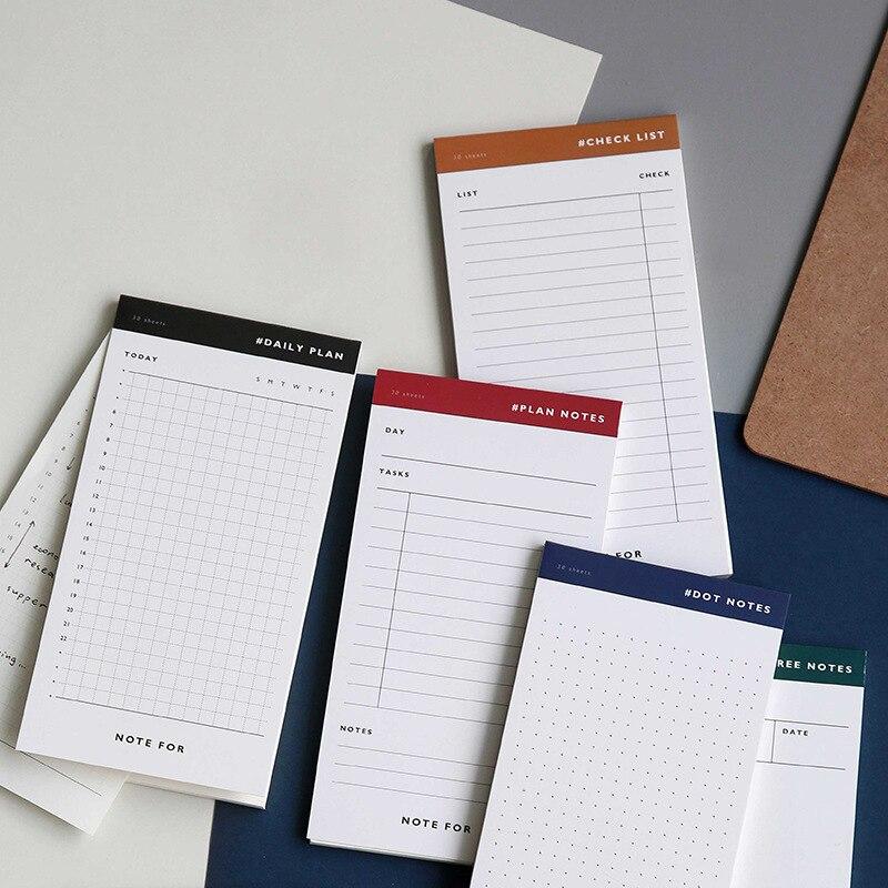 1 Pcs Creative Multifunction Pocket Paper Memo Pad Notepad DIY Scrapbooking Memo Notes To Do List Note Pad