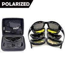Nueva Polarizado Gafas de Sol de Los Hombres Del Ejército Militar de La Margarita C5 Tormenta Del Desierto Gafas de Sol Para hombres Gafas Tácticas de Guerra