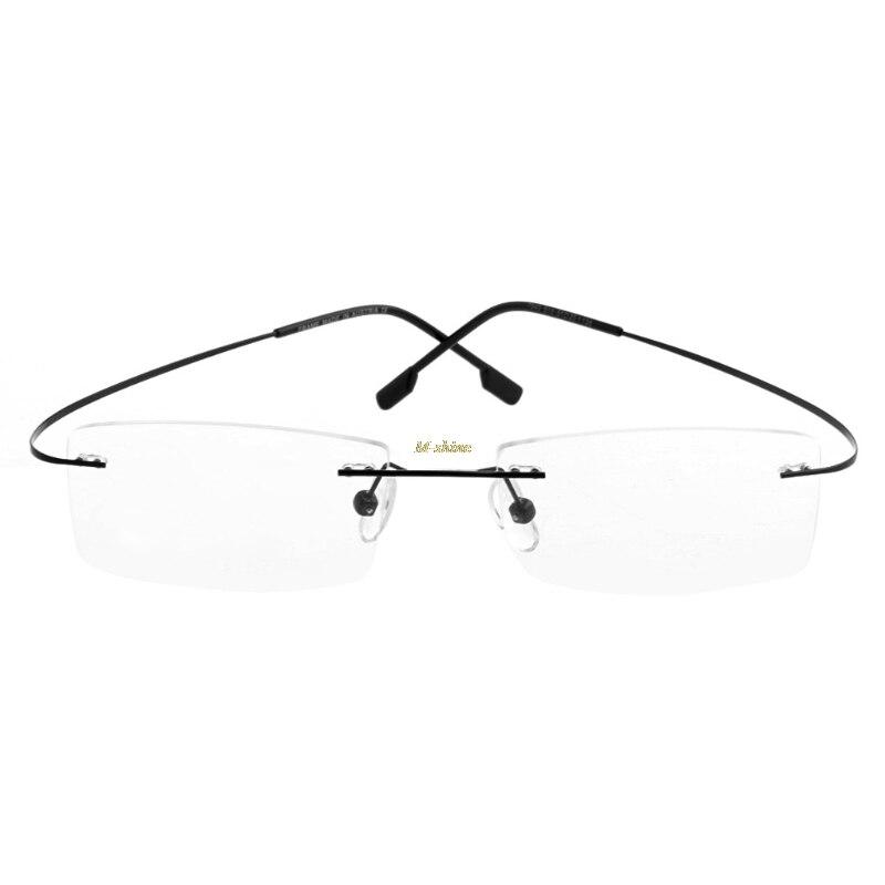 2018 Exquisite Mode Metall Randlose Brillen Brillen Rahmen Spektakel Rahmen M-glanz A29_18