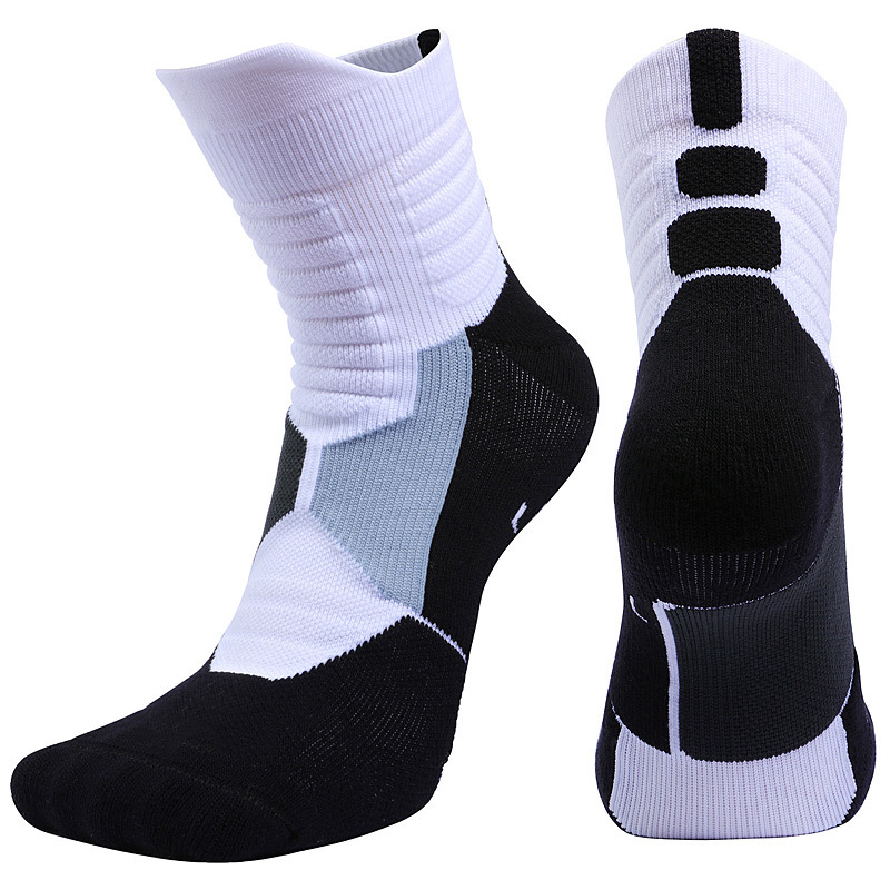 Brothock Professional Deodorant Basketball Socks Quick Drying Thick Custom Elite Breathable Sports Socks Towel Bottom Stockings