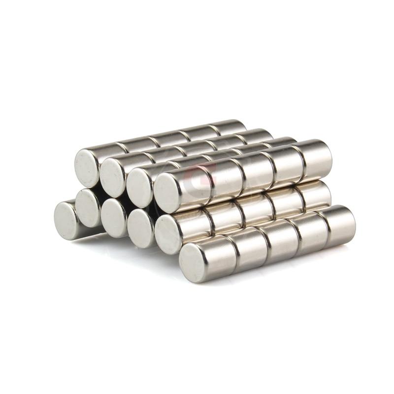 10pcs New Neodymium Disc Rare Earth N50 Strong Magnets Craft Models 10X10mm