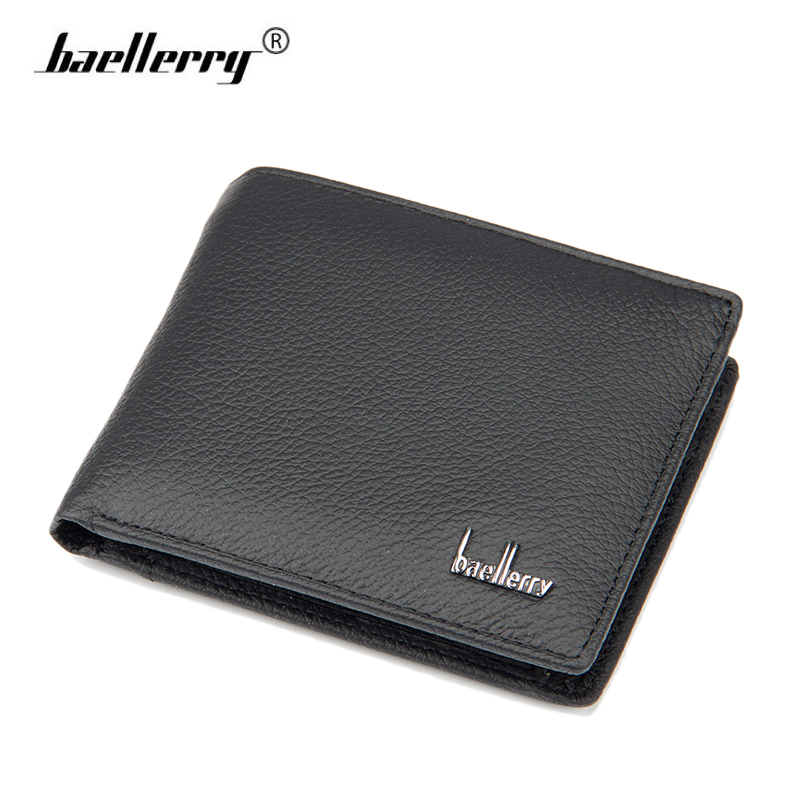 Genuine Men Leather Wallets Mens Purse Card Holder Wallet Luxury Brand Logo Dollar Bill Wallet Men Coin carteira masculina couro wallet purse dollar price carteira masculina men wallets short carteras leather famous brand purses portefeuille home mens walet