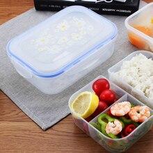 Пластиковый для микроволновки специальный термоуплотнитель 3 большой Ланч-бокс Портативный Пикник школьный контейнер для еды, судок