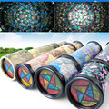 Free Shipping Large rotation kaleidoscope baby infants fancy lay in early childhood toy  Autism Toys For Children