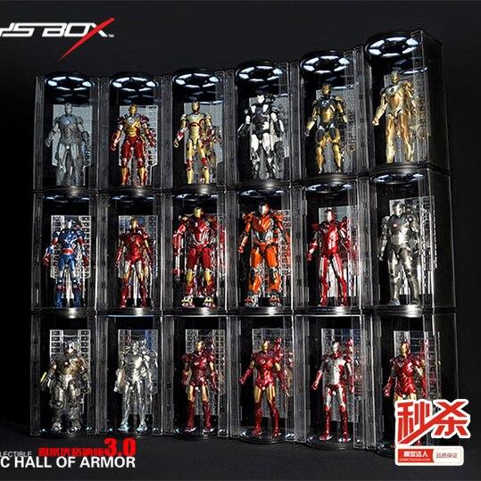 Spot 4 crown TOYS BOX 1/6 Iron Man 3.0 MK Hangar closed 3