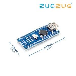 Image 2 - Nano Mini USB avec le chargeur de démarrage compatible Nano 3.0 contrôleur CH340 pilote USB 16Mhz Nano v3.0 ATMEGA328P