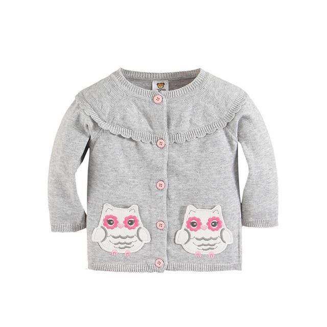 Все для детей Одежда и аксессуары Девочка Модная одежда Серая Сова Кардиганы Девушки Суперзвезда Пиджаки