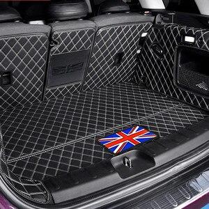 Image 1 - سيارة جذع سطح حماية وسادة من الجلد اكسسوارات السيارات التصميم لسيارات BMW MINI ONE equs JCW F54 F55 F56 F60 R60 كلوبمان كونتري مان