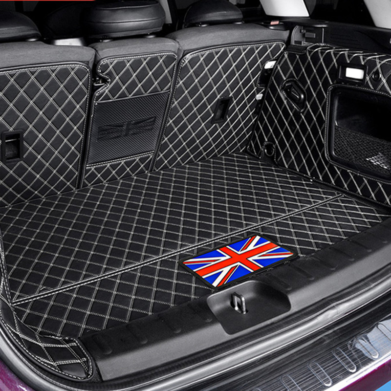 Car Trunk Protection Mat Leather Pad Car Styling Accessories For BMW MINI ONE Cooper S JCW F54 F55 F56 F60 R60CLUBMAN COUNTRYMAN