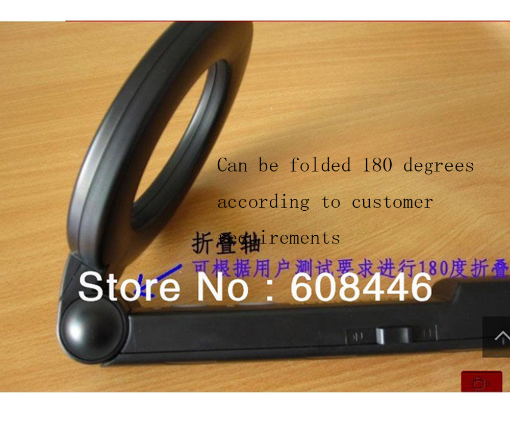 Metal detectors Guard Security Wand handheld 180°Security foldable tool MD-228V