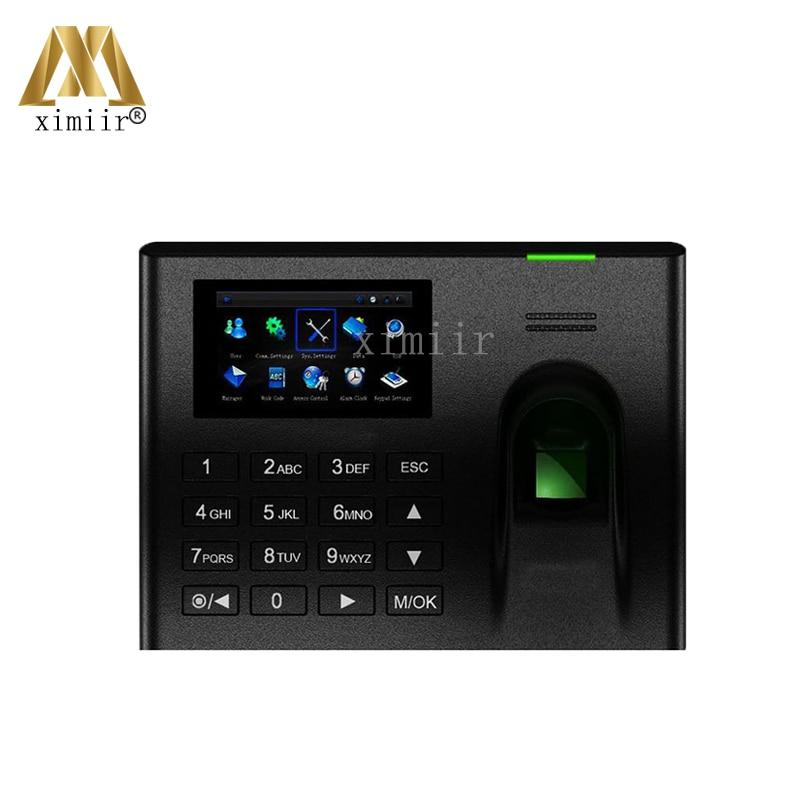 Linux System UA100 Fingerprint Time Attendance Worker Time Recorder TCP/IP,RS232/485,USB Fingerprint Time And Attendance