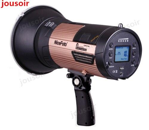 NflashE680A Flash de estudio inalámbrico Elinchrom series lámpara LED para fotografía al aire libre luz Flash de alta velocidad incorporada CD50
